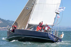 J44 sailing Pacific Cup Race