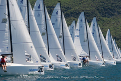 J/70 sailing Italy