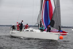 J/109 sailing Storm Trysail Intercollegiate regatta