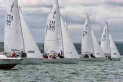 J/22s sailing Jack Rabbit regatta- Lake Canandaigua, NY