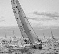 J/80 sailing Swiftsure Inshore Regatta