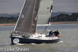 J/105 sailing UK Doublehanded championship