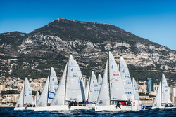 J/70s sailing Monaco Winter Sportboat series