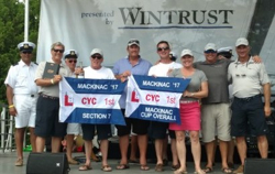 J/109 TOA- Chicago Mackinac Cup winners