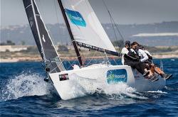 J/80 sailing PalmaVela