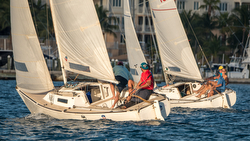 J/22s sailing Nassau Cup Match Race in Bahamas