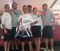 Roesch's J/111 Velocity crew- winners