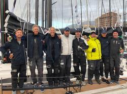 JOY RIDE J/122E Sydney Hobart team