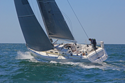 J/133 sailing offshore