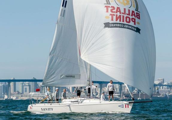 J/105 sailing Masters Regatta- San Diego, CA