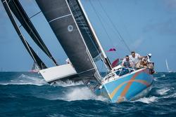 J/122 sailing Heineken St Maarten