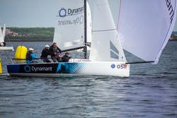 Swedish J/70 Dynamant Racing team sailing Sweden