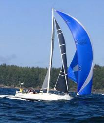 J/120 sailing Van Isle 360