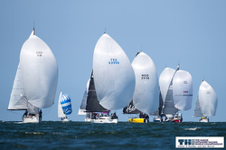 J/112E sailing downwind- Offshore Sailing Worlds- Netherlands