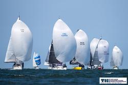 J/112E sailing downwind- Offshore Sailing Worlds- Netherlands