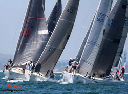 J/120s sailing Long Beach