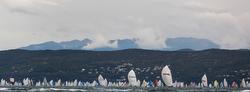 Barcolana Race sailing offshore