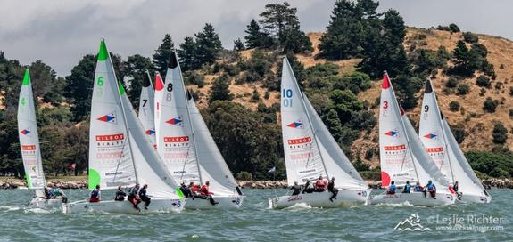 J/22s sailing Lipton Cup
