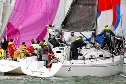 J/97 cruiser- racer sailboat-  sailing Solent