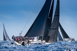 J/120 sailing Voiles St Barth regatta