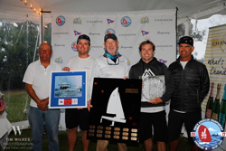 Joel Ronning's J/70 Catapult wins North Americans