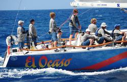 J/122 El Ocaso sailing BVI Spring Regatta