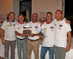 Barbados J/24 sailing champions