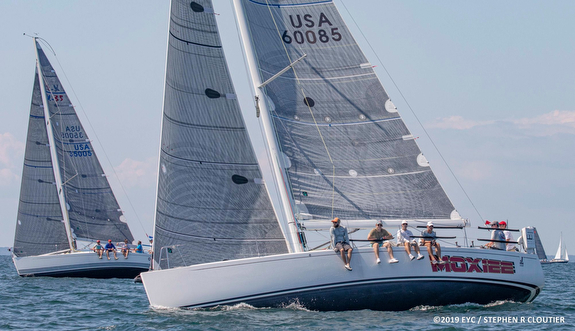 J/122 sailing Edgartown Race Weekend off Martha's Vineyard