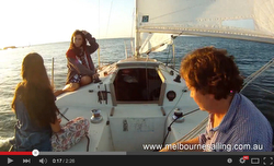 J24 Melbourne Meet Up sailing in Australia