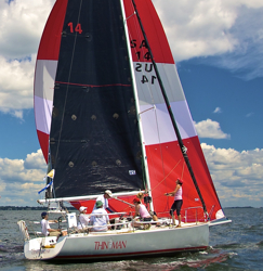 J/92 Thin Man - winner Vineyard/ Seaflower Reef Race