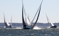 J/105s sailing NA's