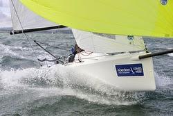 J/70s sailing Cowes Week