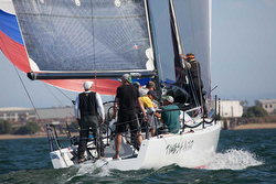 J/125 sailing Yachting Cup San Diego