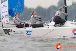 Women J/70 sailing team kicking ass!!