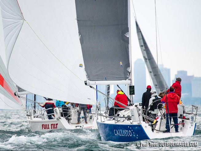 J/109 Callisto sailing Chicago NOOD regatta