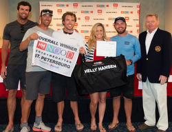 J/70 Overall winners- Honeybadger- Travis Odenbach