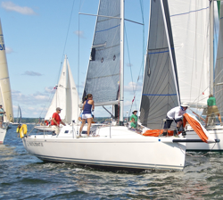 J/97 Participant- sailing Vineyard Race