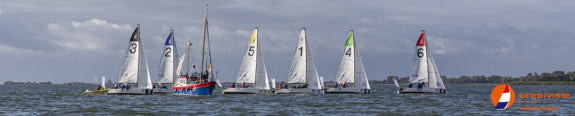 J/70s sailing Dutch Sailing League