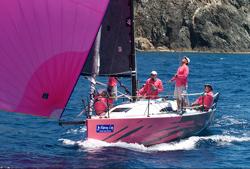 J/88 sailing BVI