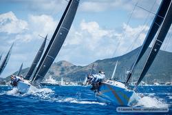 J/122s sailing St Maarten Heineken regatta