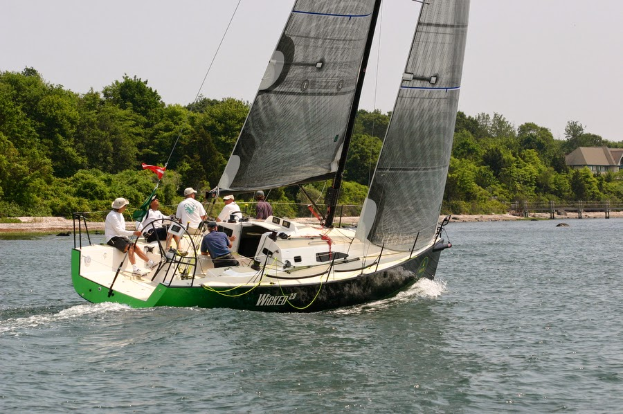 J/111 Wicked sailing Block Island Race Week