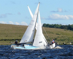 Irish J/24s sailing Lough Erne