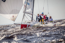 J/70s sailing St Petersburg, Russia- Sailing Champions League