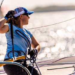 Woman J/24 sailors at Midwinters