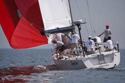 J/145 Spitfire sailing RORC Caribbean 600 race