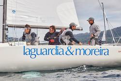 J/70 sailing off Spain
