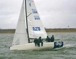 J/70 sailing Warsash spring series