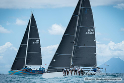 J/111 sailing St Maarten Heineken Regatta
