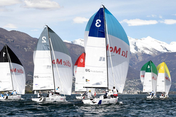 J/70s sailing Swiss Super League