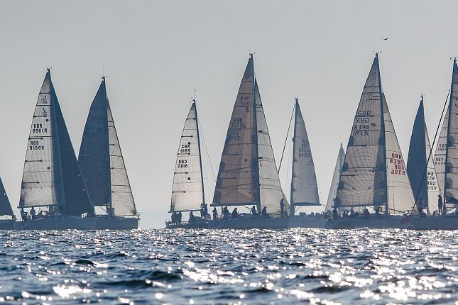 Round the Island Race start